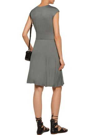 BAILEY 44 Gathered cutout stretch-jersey dress