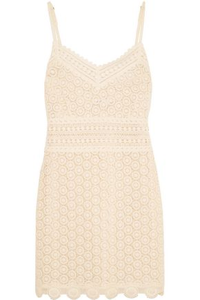 GOEN.J Cotton-lace mini dress