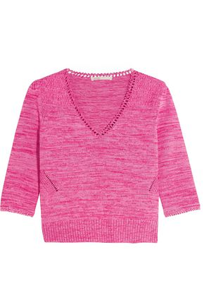 MAJE Melange knit sweater