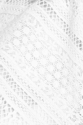GOEN.J Crocheted cotton mini dress