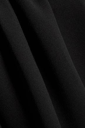 SANDRO Riley layered crepe mini dress