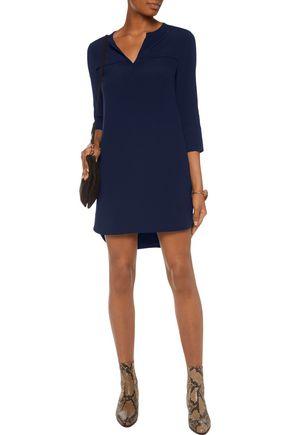 SANDRO Ralene cutout crepe mini dress