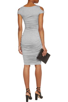 BAILEY 44 Ruched stretch-jersey dress