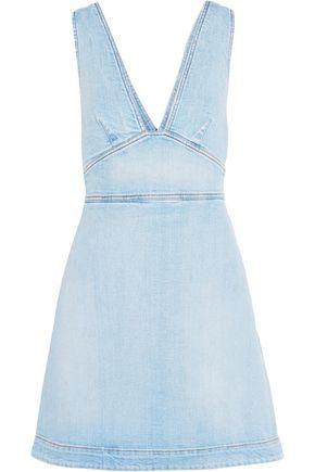 STELLA McCARTNEY Anne stretch-denim mini dress