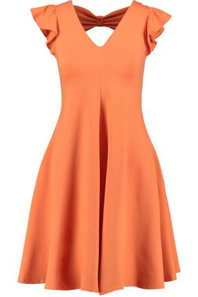 REDValentino Cutout stretch-jersey mini dress