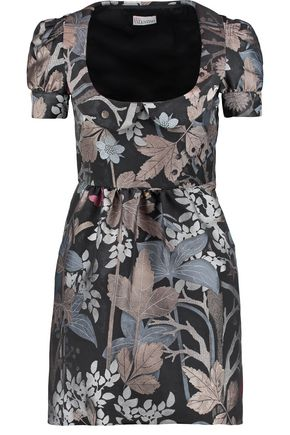REDValentino Printed jacquard mini dress