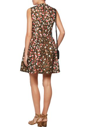 REDValentino Printed taffeta mini dress