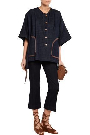 SEE BY CHLOÉ Denim poncho