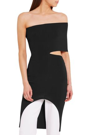 STELLA McCARTNEY Cutout stretch-knit dress