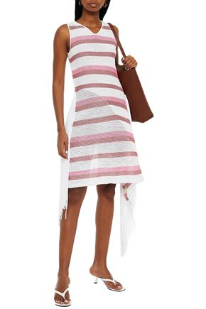 STELLA McCARTNEY Fringed knitted dress