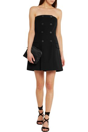 STELLA McCARTNEY Double-breasted wool mini dress