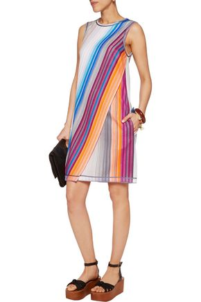 MISSONI Layered crochet-knit dress