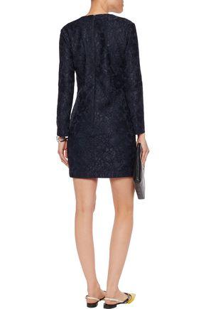 MSGM Corded lace mini dress