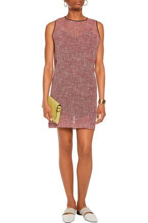 MSGM Pintucked crepe mini dress