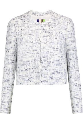 MSGM Cotton-blend bouclé jacket