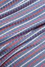 KAIN LABEL Leia one-shoulder striped stretch-knit dress