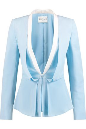 VIONNET Draped silk blazer