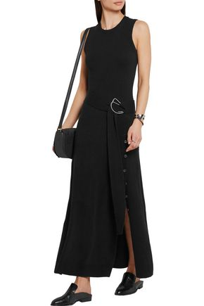 MICHAEL KORS COLLECTION Belted cashmere-blend maxi dress
