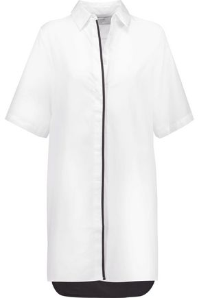 LA LIGNE Cotton-poplin shirt dress