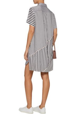 LA LIGNE Lumiere striped twill shirt dress