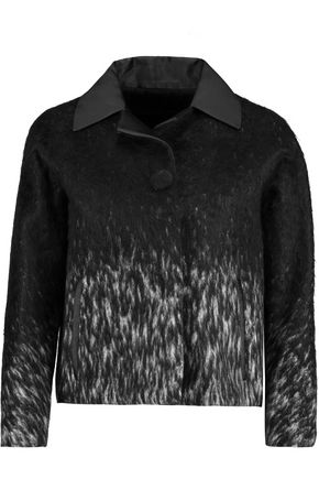 MAISON MARGIELA Two-tone wool-blend felt jacket