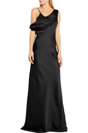 MAISON MARGIELA Enverse draped satin gown