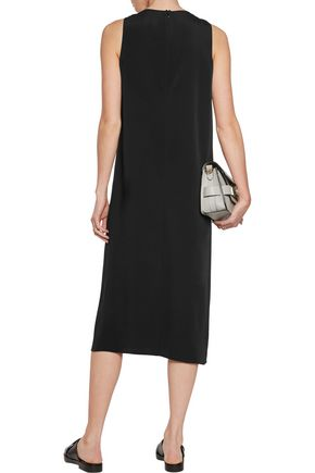 MAISON MARGIELA Draped crepe midi dress