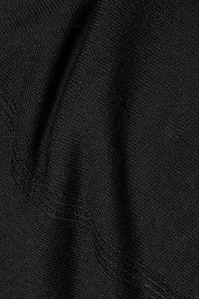 MAISON MARGIELA Distressed wool midi dress