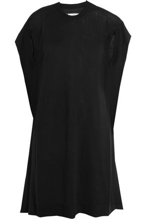 MAISON MARGIELA Wool and jersey-blend mini dress