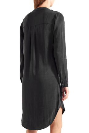 SPLENDID Crepe de chine shirt dress