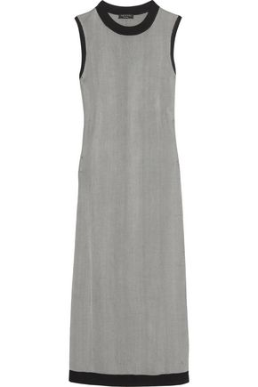 RAG & BONE Leila pinstriped stretch-jersey midi dress