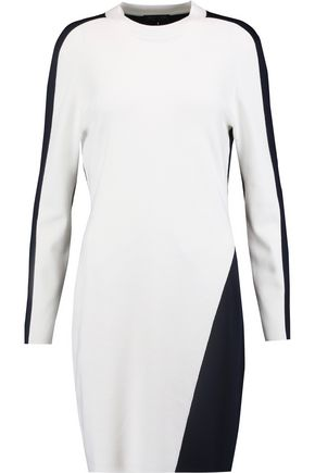 RAG & BONE Cecilee two-tone wool-blend mini dress