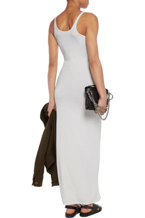 T by ALEXANDER WANG Stretch-modal maxi dress
