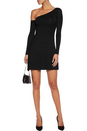 BAILEY 44 One-shoulder jersey mini dress