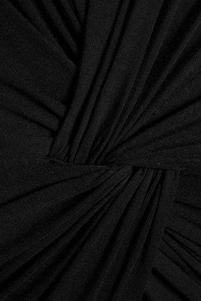 BAILEY 44 Peekabo knotted stretch-jersey dress