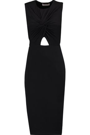 BAILEY 44 Peekaboo knotted stretch-jersey dress