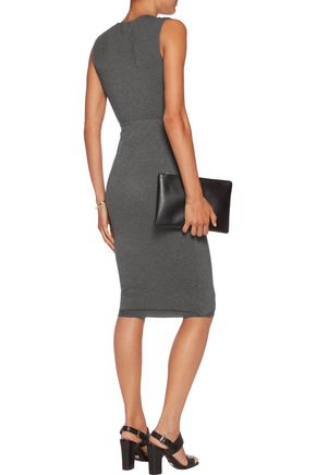 BAILEY 44 Peekabo knotted stretch-jersey dress