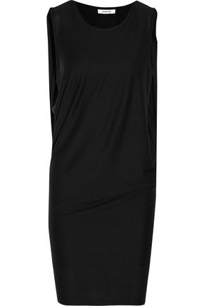 HELMUT LANG Layered jersey mini dress