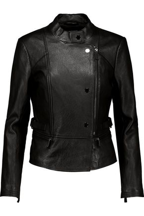 JOIE Zenovia leather biker jacket