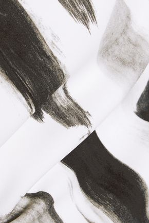 DOLCE & GABBANA Printed crepe midi dress