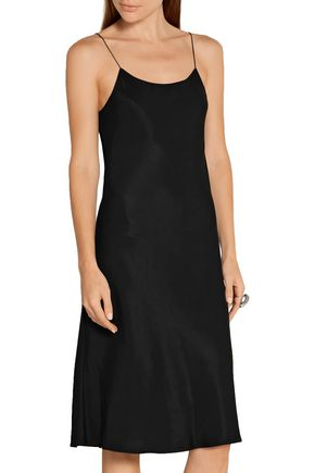 HELMUT LANG Washed-poplin dress