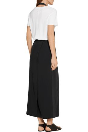 DKNY Twill halterneck dress