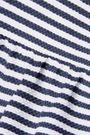 REDValentino Striped cotton-blend piqué mini dress