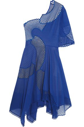STELLA McCARTNEY Noah one-shoulder broderie anglaise cotton dress
