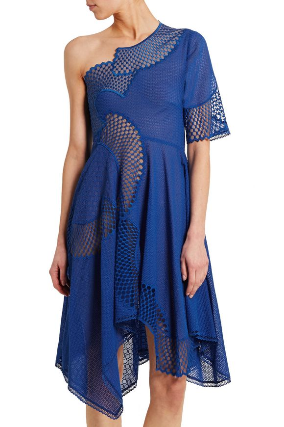 Noah one-shoulder broderie anglaise cotton dress | STELLA McCARTNEY | Sale  up to 70% off | THE OUTNET