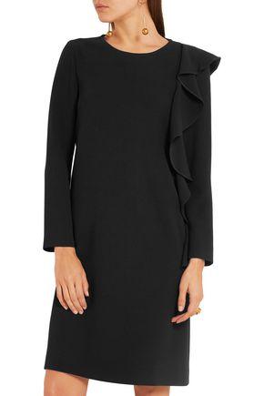 BOUTIQUE MOSCHINO Ruffled stretch-crepe dress