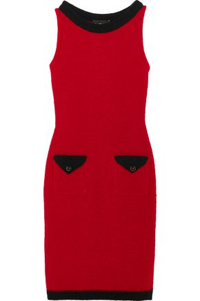 BOUTIQUE MOSCHINO Wool-blend bouclé mini dress