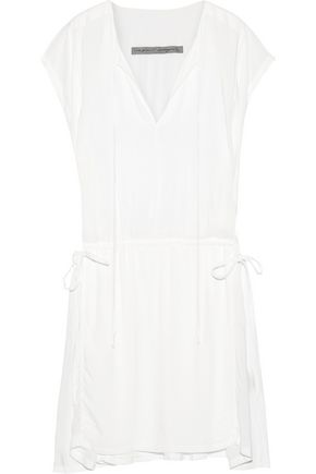 RAQUEL ALLEGRA Voile mini dress