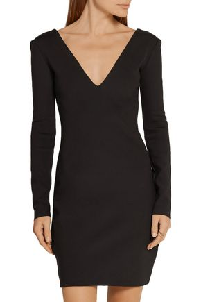 THE ROW Myrna stretch-scuba mini dress