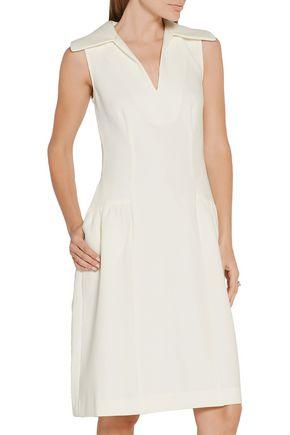 CO Drop-waist crepe dress